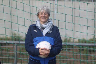 Unsere Trainerin Brigitte